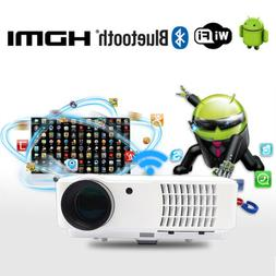WIFI Projector Bluetooth Android HDMI 1080P FULL HD Wireless