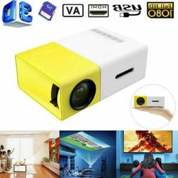 1080P HD Theater Projector Cinema LED LCD Home Mini Projecto